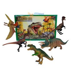 5 piezas dinosaurios para niños
