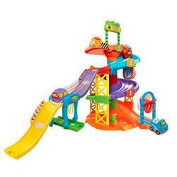 aparcamiento de juguete con sonidos