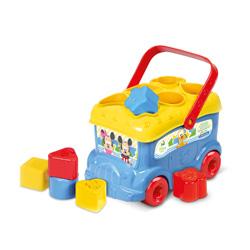 autobus de juguete diseño mickey mousse