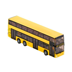 autobus de linea siku con dos pisos