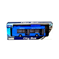 autobus urbano city bus azul
