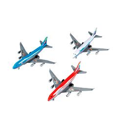 avion de juguete happy people