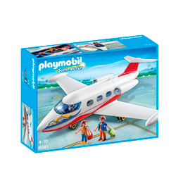 avion de playmobil de juguete
