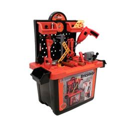 banco de herramientas con accesorios