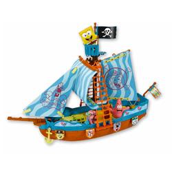 barco de juguete bob esponja