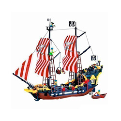barco de juguete mar del caribe