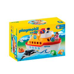 barco infantil de juguete playmobil