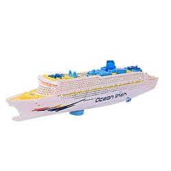barco transatlantico con sonidos y luces led