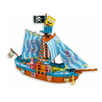 El Capitán Barba Negra ya tiene su barco, ¿de verdad vas a dejar que se salga con la suya? Convierte a tu hijo en un auténtico pirata y deja que surque los mares mientras descubre tierras inexploradas.