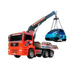 camion grua elevadora de juguete