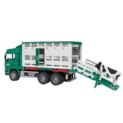 camion para el ganado de juguete