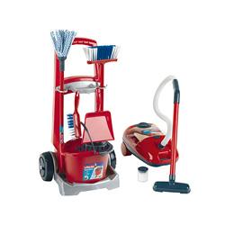 carro de limpieza y aspiradora vileda de juguete
