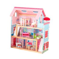 casa chelsea kidkraft de muñecas