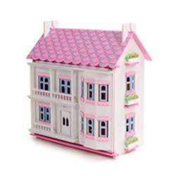 casa con muebles y muñecas mamakiddies