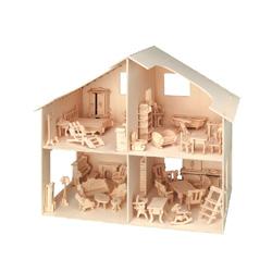 casa para muñecas con muebles