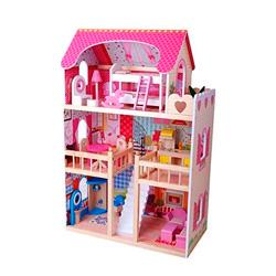 casa xl de madera para muñecas