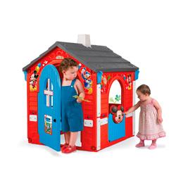 casita mickey mouse para niños