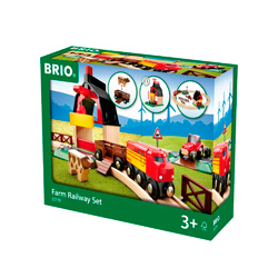 circuito de tren la granja para niños