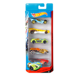 coches hot wheels 5 piezas