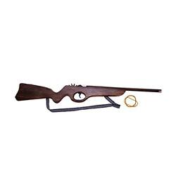 escopeta de madera para niños