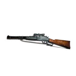 escopeta de vaquero con 100 disparos