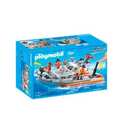 guardacostas barco de rescate playmobil