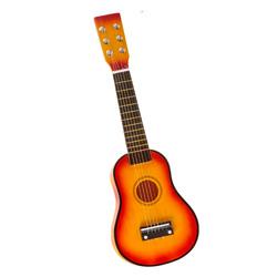 guitarra con cuerdas de metal de juguete