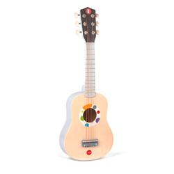 guitarra de madera de juguete