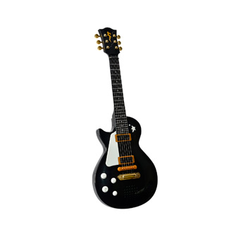 Si tienes un pequeño rockero en casa, una guitarra es todo lo que necesitas. Con ella disfrutarán como enanos y se lo pasarán en grande tocando sus canciones favoritas. sizes=