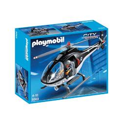 helicoptero de playmobil unidad especial