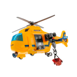 helicoptero de rescate dickie toys