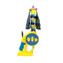 juguete volador con diseño minion