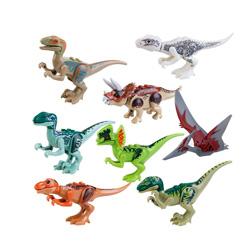 jurassic park dinosaurios para niños 8 piezas