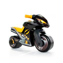 moto infantil con diseño de batman