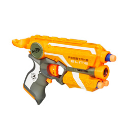 pistola lanzadora de dardos nerf