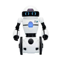 robot de juguete color blanco con juegos