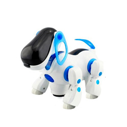 robot perro mascota interactiva
