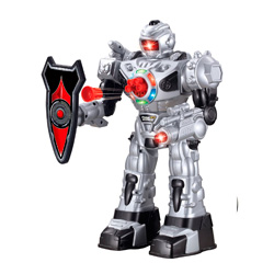 robot teledirigido lanzadardos