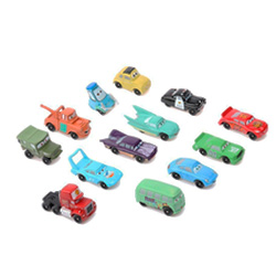 set 14 minicoches de juguete cars 2