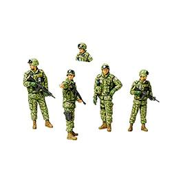 set de 5 figuritas de soldados para niños