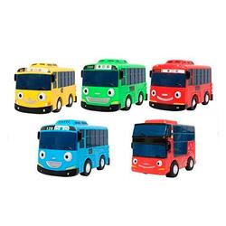 set de autobuses little tayo de juguete