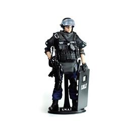 soldado antidisturbios swat de juguete