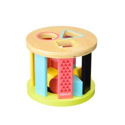 tambor de madera goula de juguete