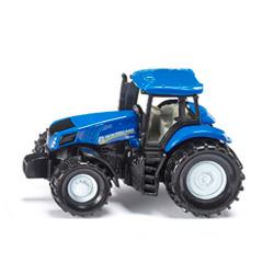 tractor de juguete holland azul