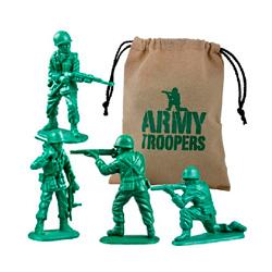 tropas del ejército de juguete