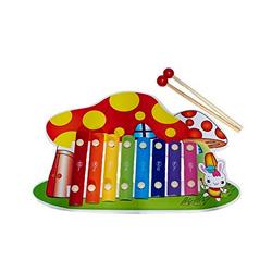 xilofono casita en forma de seta de juguete