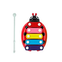 xilofono con forma de mariquita para niños