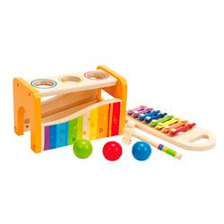 xilofono de madera picafuerte para niños