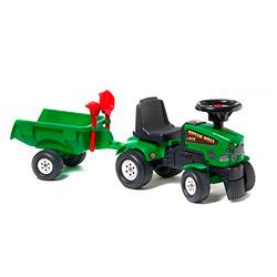 Tractor-a-pedales-con-remolque---Falk